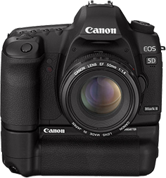 canon 5D Mark II battery grip My Sixth sense
