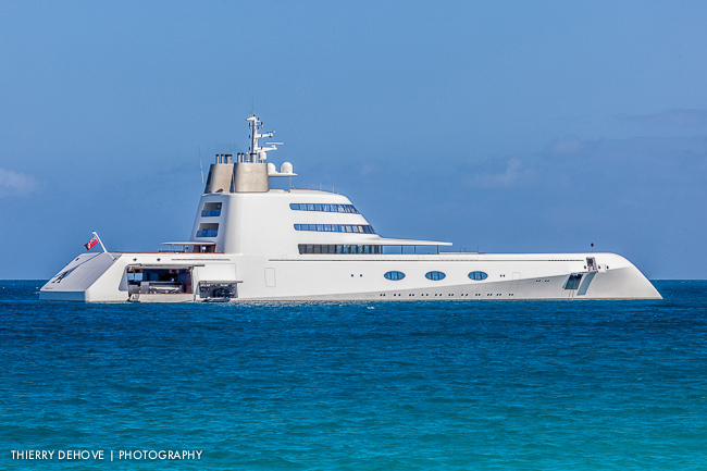 A Yacht by Philippe Stark