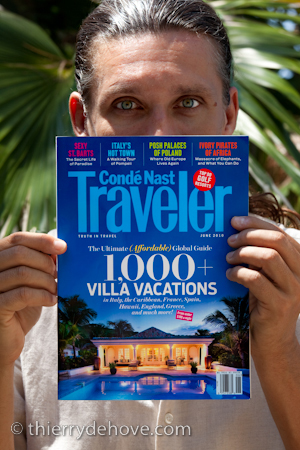 Condé Nast Traveler Magazine Thierry Dehove May June 2010