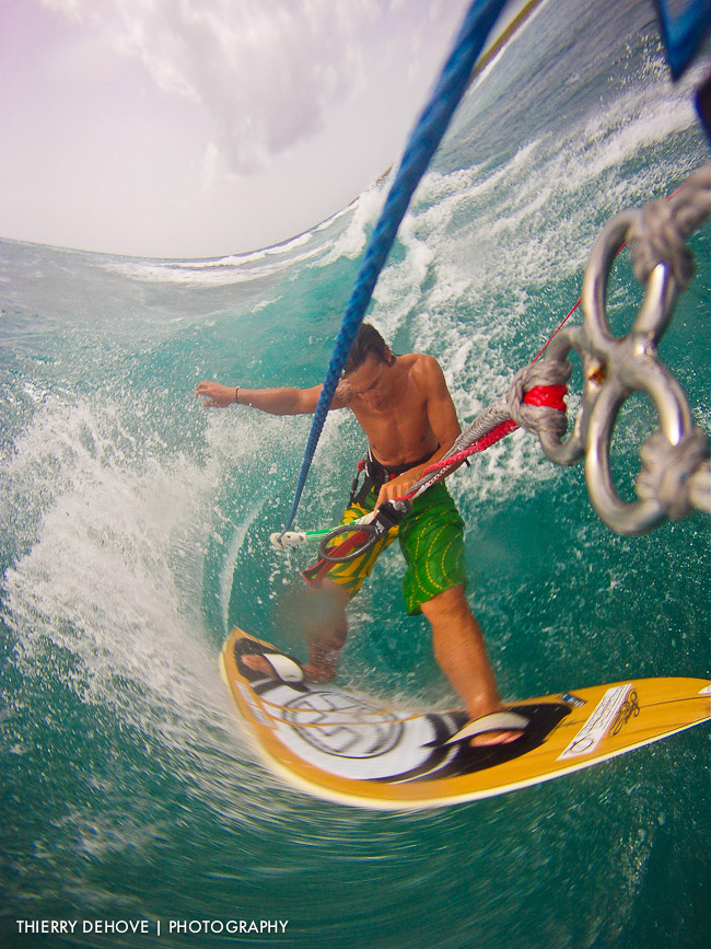 Go Pro Hero my best kitesurfing photos