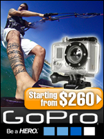 waterproof digital camera reviews banner Go Pro Hero my best kitesurfing photos