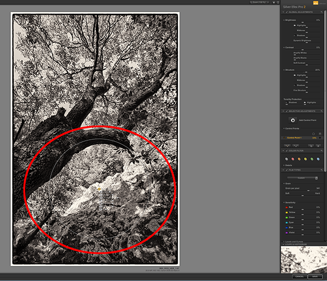 how to use nik silver efex in lightroom