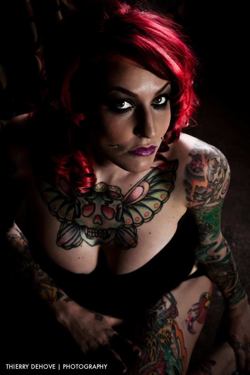 Body Tattoo Woman Sarah 01