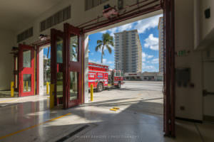 Firefighter Pompano Beach Fire Station