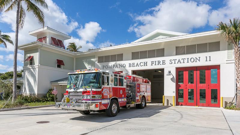 Firefighter Pompano Beach Fire Station