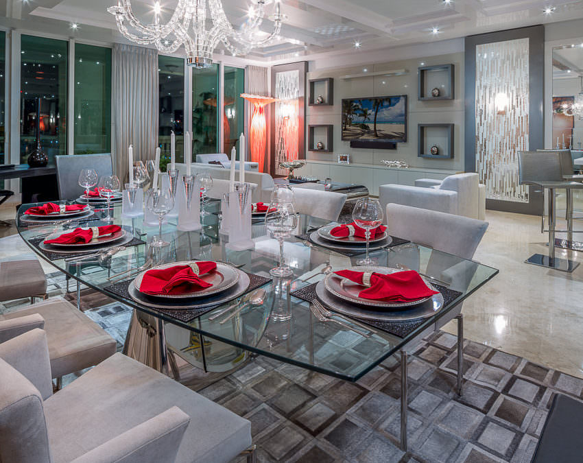 Home Interior Design Decoration in Boca Raton, Florida by Zelman Style Interiors