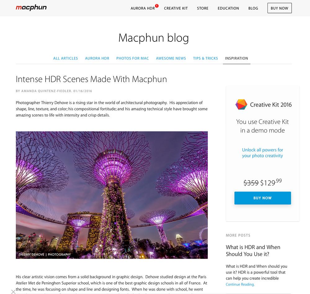 MacPhun Inspiring Photography