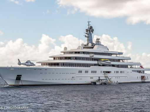 Yacht Eclipse in St Barth