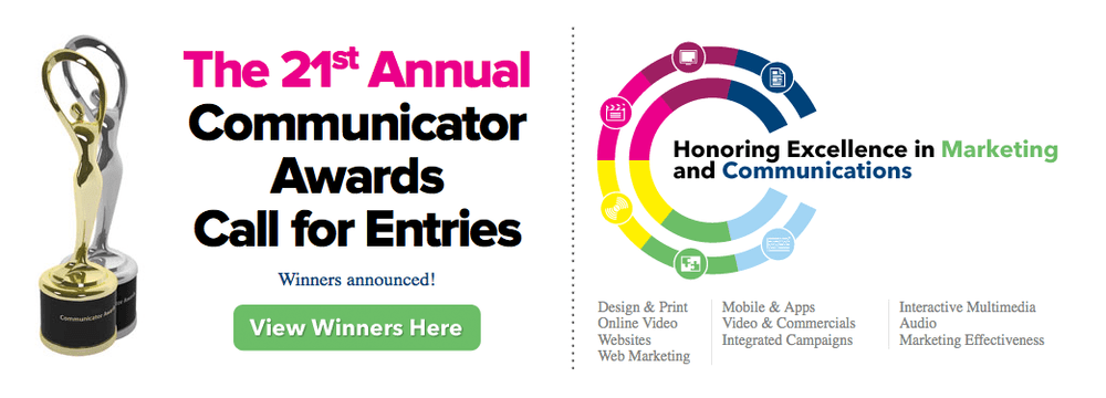 2015 21st Annual Communicator Award of Distinction Winners