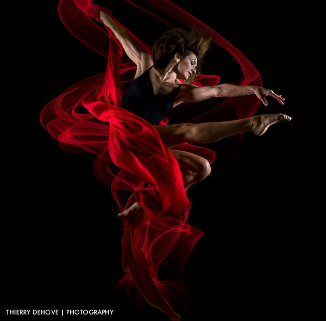 Alicia Kingsley Ballet Dancer Photo Effect