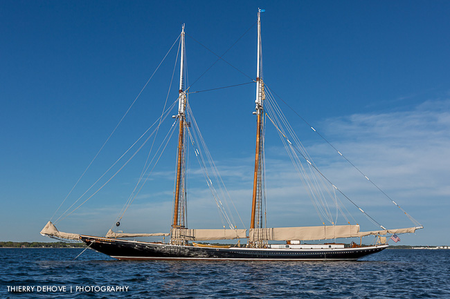 Columbia Gloucester Fishing Schooner