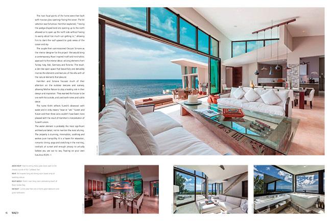 Maco Magazine Khisti Villa Anguilla