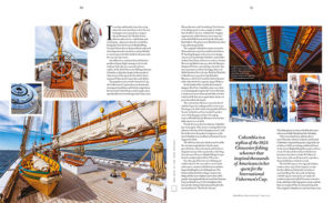ShowBoat Magazine June with Columbia Gloucester Fishing Schooner