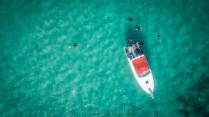 aerial photography Saint Martin Caribbean