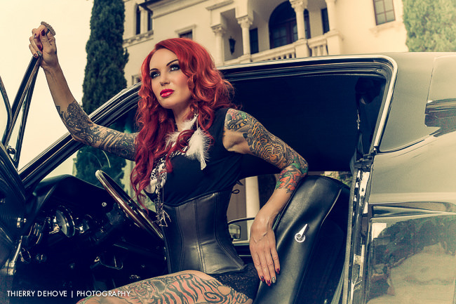 Composite images with Lea Vendetta