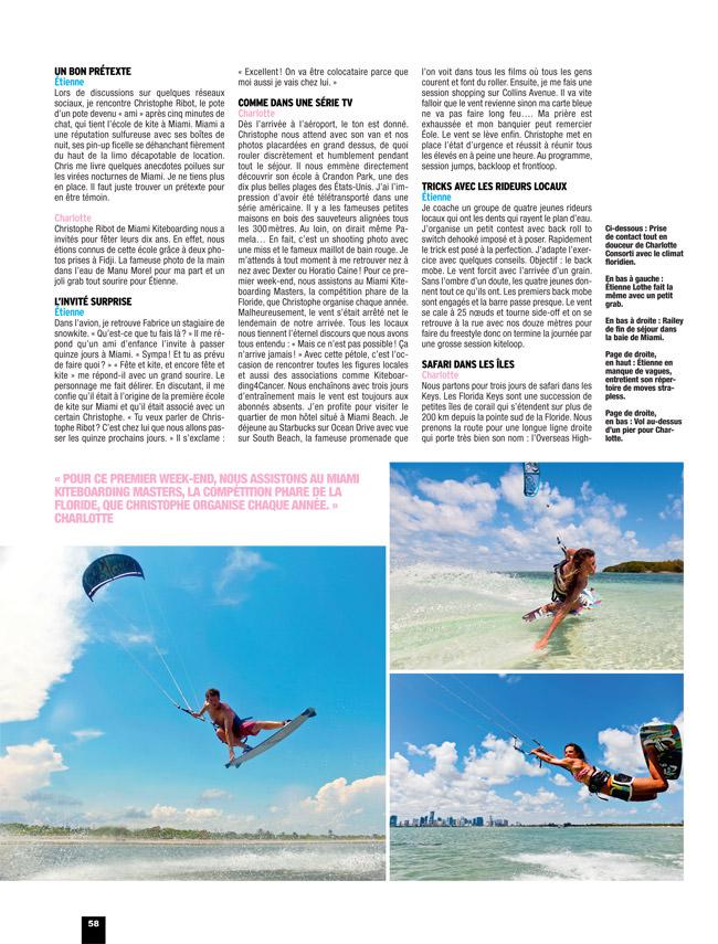Kite Boarder Magazine 71 in Miami