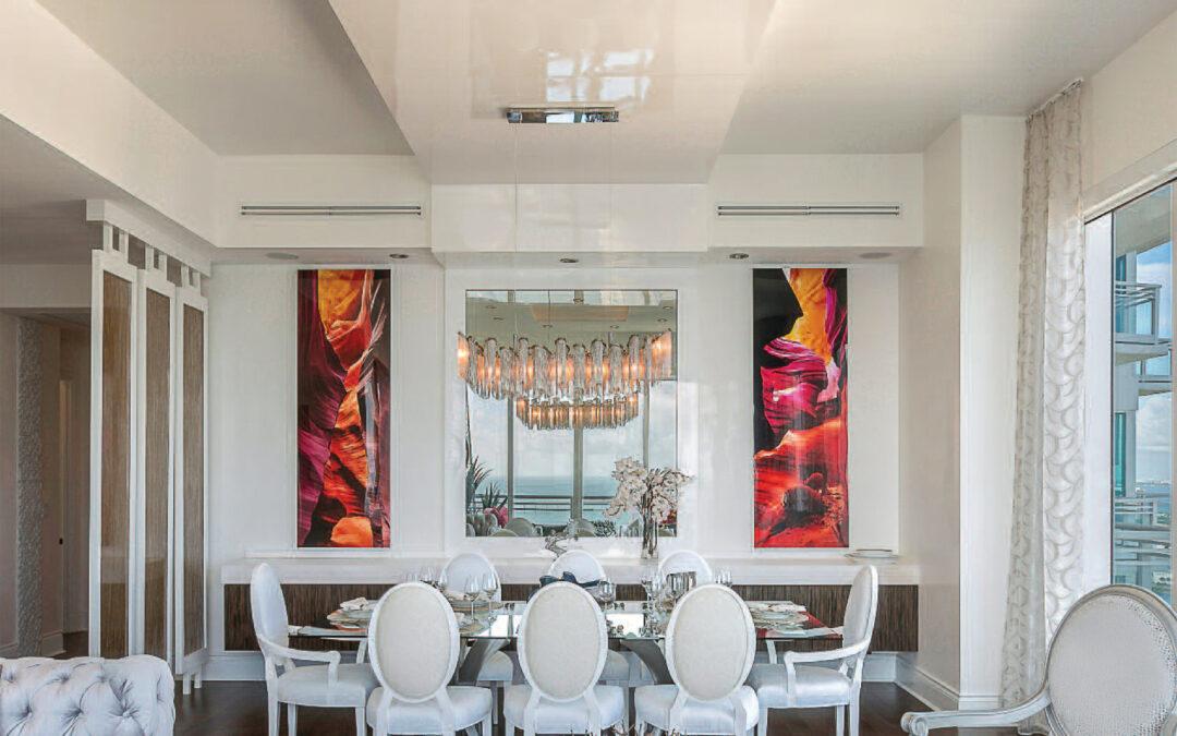 Florida Decor Magazine Featured Steven Zelman Interior Designer