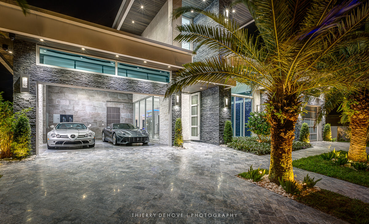 Interior decoration luxury home