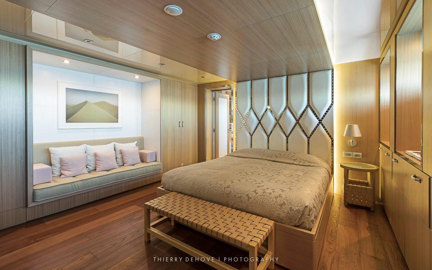 Double Cabin on Motor Yacht Vicky 194 by Baglietto, Italy