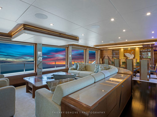 Serenity Luxury Yacht 140 Interior
